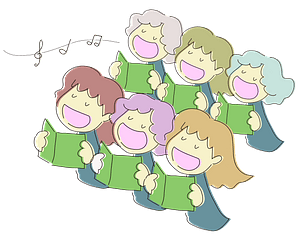 Free Singing Cliparts - Childrens Choir Png , Transparent Cartoon - Jing.fm