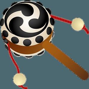 Pellet drum clipart