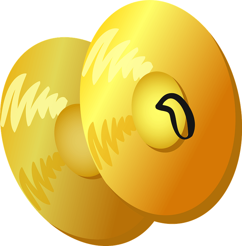 Cymbal musical instrument clipart