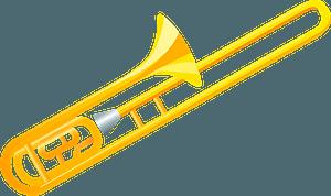 Trombone clipart