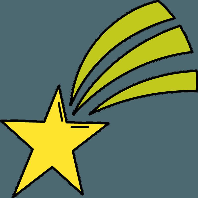 Shooting Star Clipart Free Download Transparent Png Creazilla
