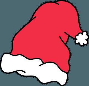 Santa hat clipart