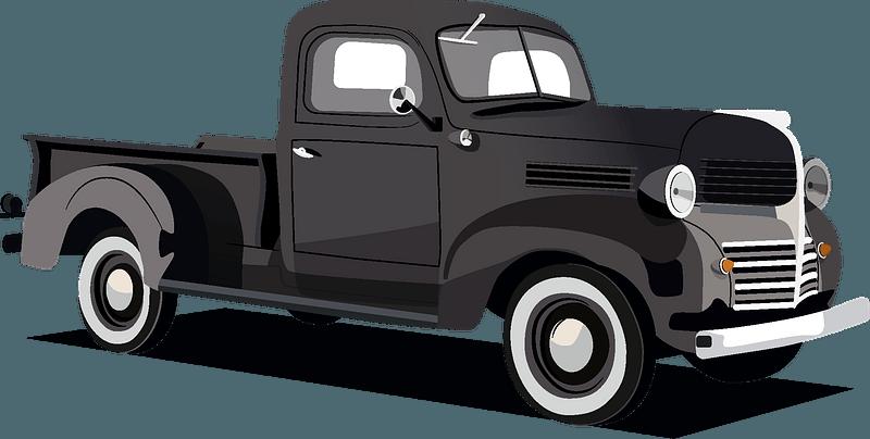 Vintage truck clipart. Free download transparent .PNG ...