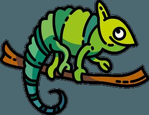 Chameleon 클립 아트