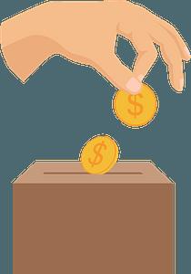Donate clipart
