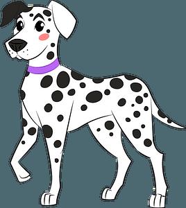 Dalmatian clipart