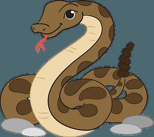 Rattlesnakeのクリップアート