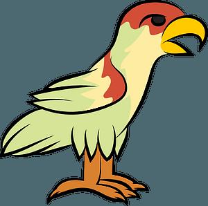 Aztec bird 클립 아트