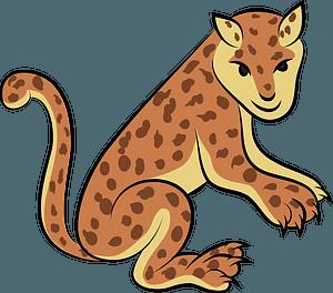 Aztec jaguar 클립 아트