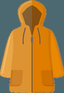 Raincoat immagine clipart