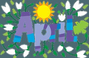 April Clipart. Free Download Transparent .PNG or Vector | Creazilla