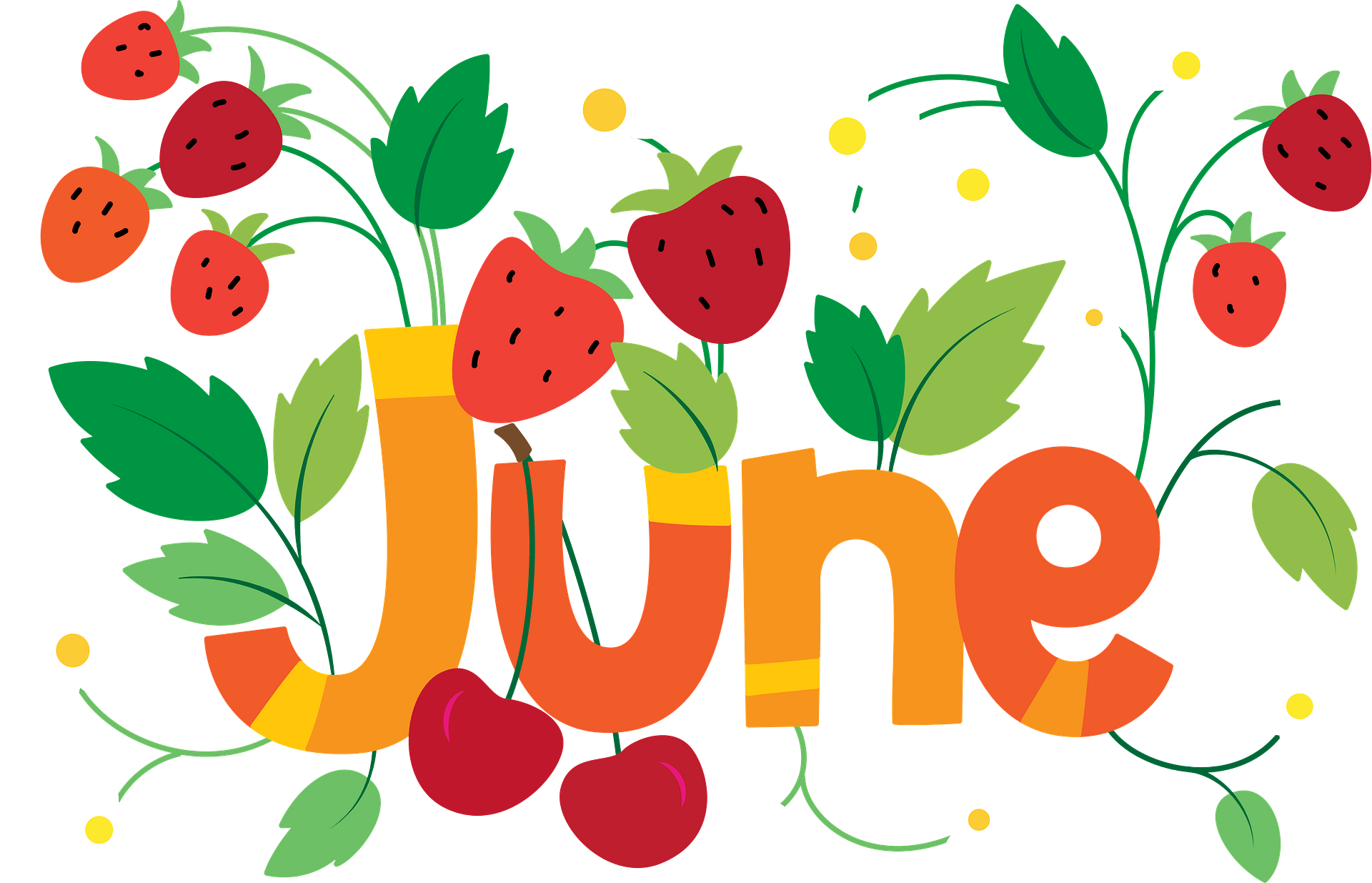 June clipart. Free download transparent .PNG | Creazilla