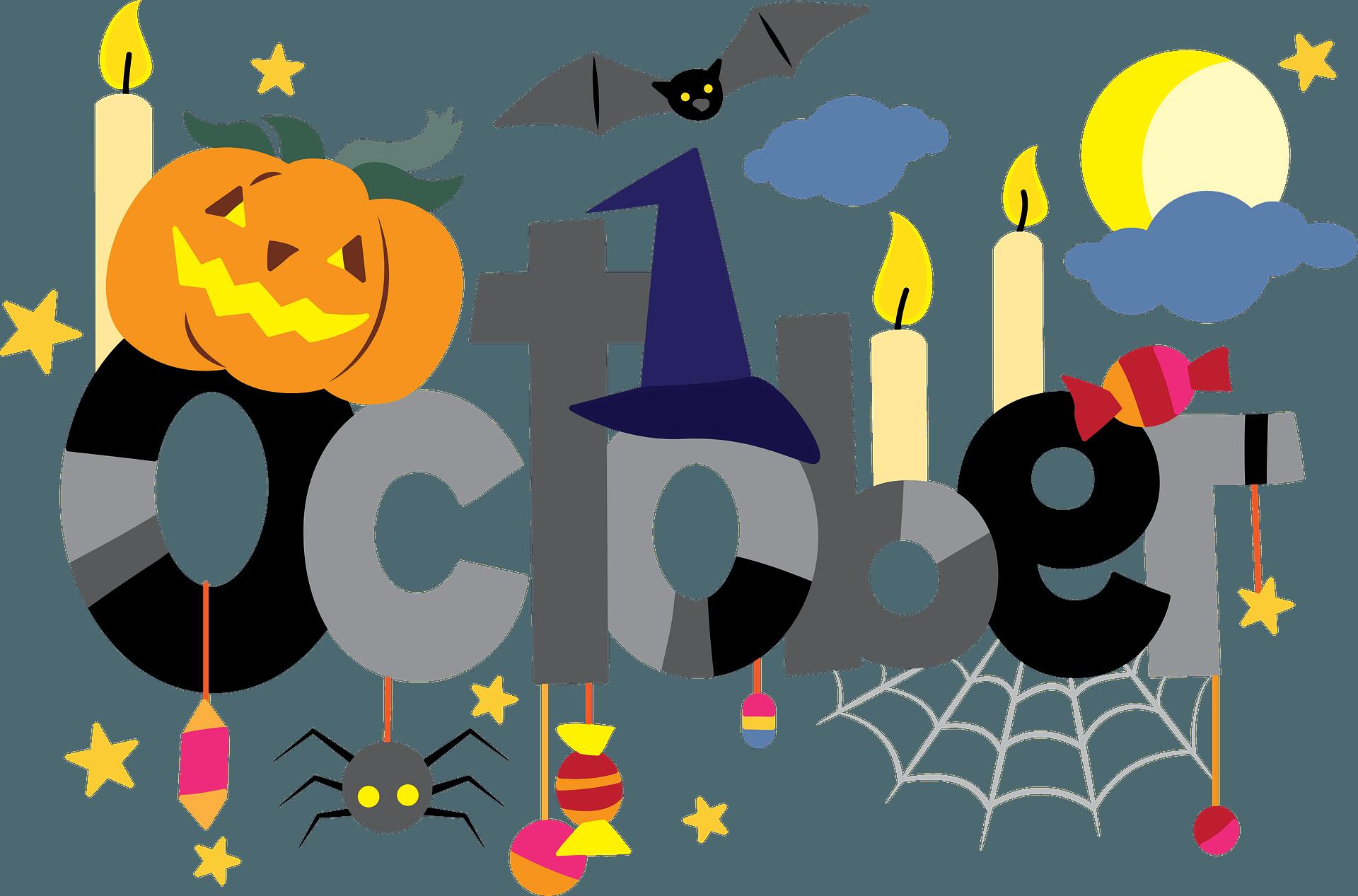 October clipart. Free download transparent .PNG   Creazilla