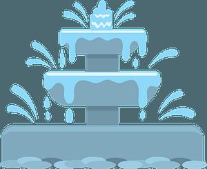 Fountain clipart