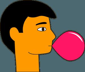 Bubble gum clipart