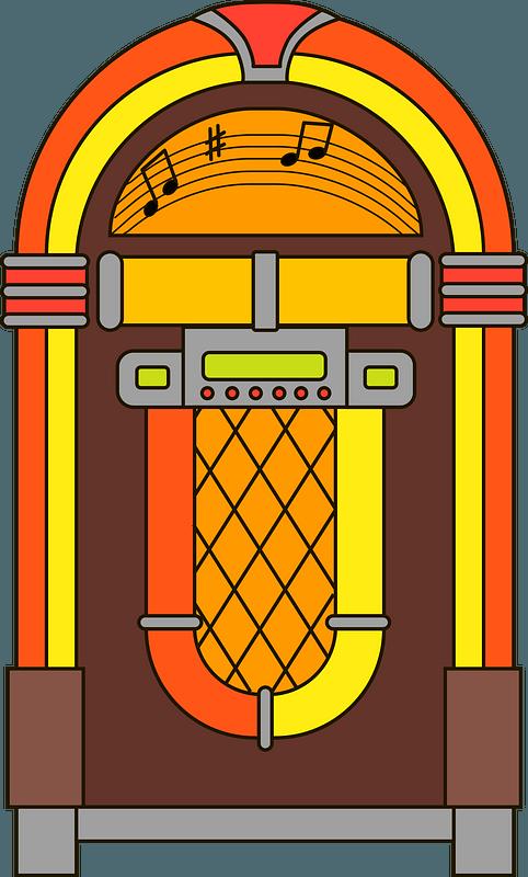 Jukebox clipart