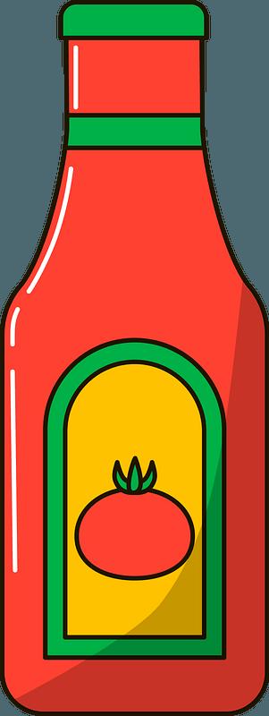 Ketchup clipart