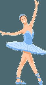 Ballet dancer clipart
