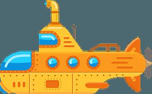 Submarine clipart