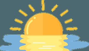 Sunrise 클립 아트