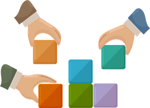 Teambuilding clipart