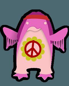 Korora hippie clipart