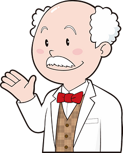 Doctorate scientist clipart