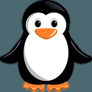 Little penguin clipart