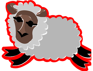 Sheep icon clipart