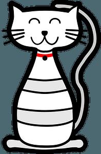 Happy kitten 클립 아트