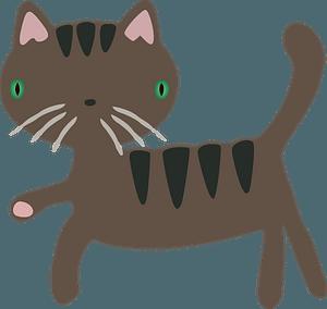 Cartoon cat clipart