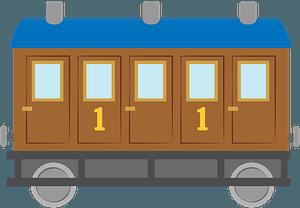 Railroad car clipart