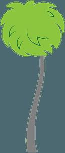Truffula tree clipart