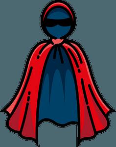 Hero cape immagine clipart