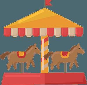 Carousel clipart