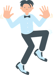 Jazz hands clipart