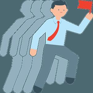 Line leader clipart