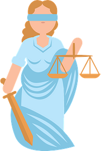 Lady justice clipart