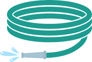 Water hose clipart