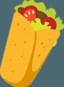 Burrito clipart