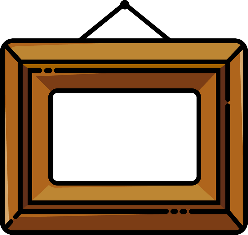 Photo frame clipart