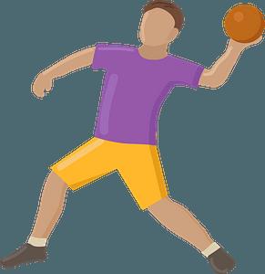 Dodgeball clipart
