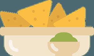 Nachos immagine clipart
