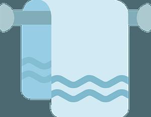 Towel immagine clipart