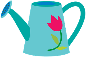 Watering can klipart