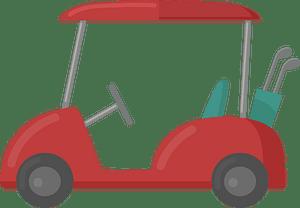 Golf cart clipart