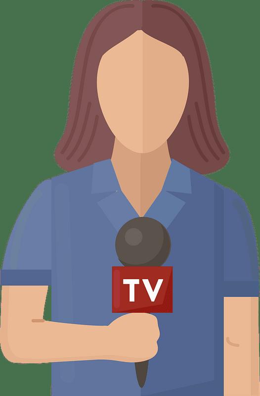 Journalist clipart