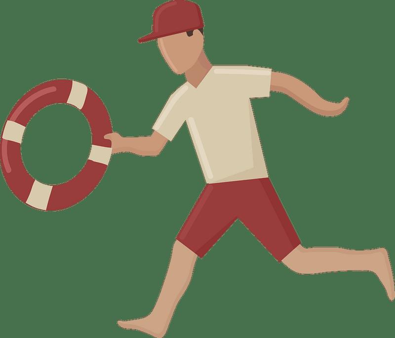 Lifeguard clipart