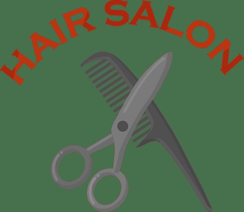 Hair salon clipart