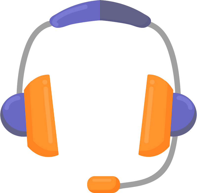 Headset clipart